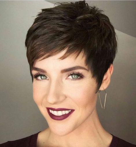 coupe de cheveux court femme e1562915195422 - Coiffez-vous avec une coupe courte femme - Coiffure Femme en 2020 2021