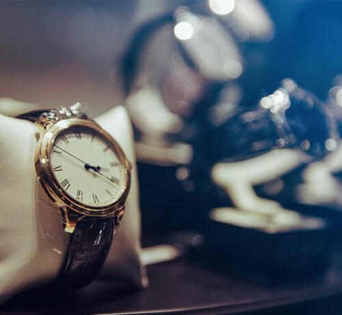 métier du luxe montre