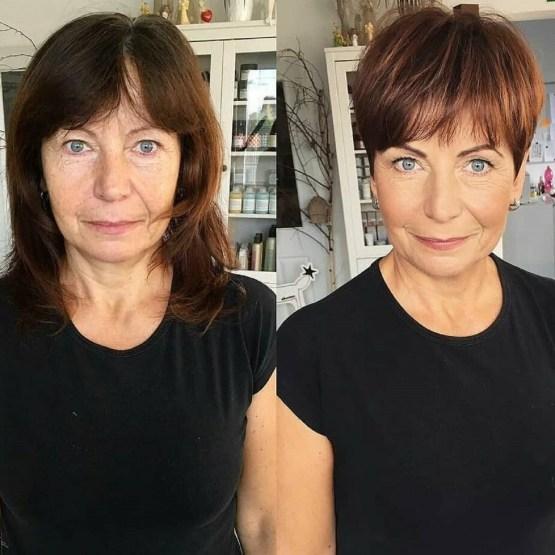coupe pixie femme mature - 10 coiffures courtes chics et simples pour les femmes de plus de 50 ans