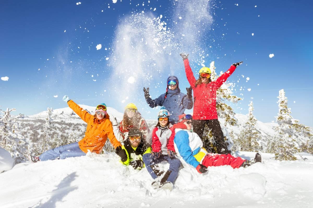 Skier aux États-Unis pendant les vacances