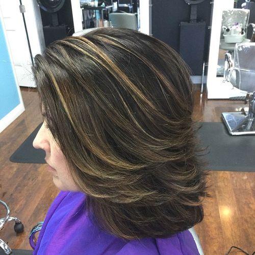 37 coupes de cheveux moyennes mignonnes pour alimenter votre imagination 5e414c1ce24e8 - 37 coupes de cheveux mi long mignonnes pour alimenter votre imagination