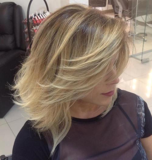 37 coupes de cheveux moyennes mignonnes pour alimenter votre imagination 5e414c1e75d93 - 37 coupes de cheveux mi long mignonnes pour alimenter votre imagination
