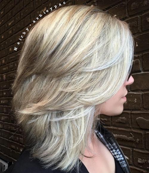 37 coupes de cheveux moyennes mignonnes pour alimenter votre imagination 5e414c1f1f233 - 37 coupes de cheveux mi long mignonnes pour alimenter votre imagination