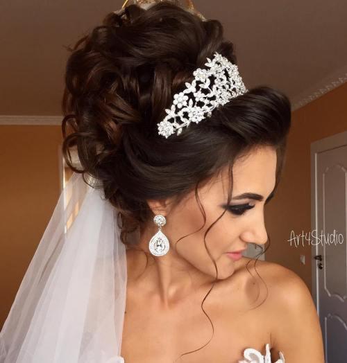 40 coiffures de mariage magnifiques pour les cheveux longs 5e415c19e2d29 - Pain hérisson à l'ail
