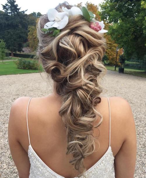 Bridal Curly Downdo