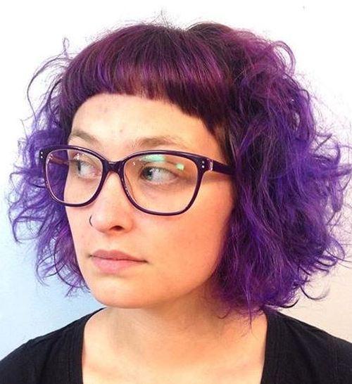 40 coupes de cheveux moyennes avec la frange les plus universelles 5e414be652d7b - Zoom sur une femme déterminée : Sandrine-Laure Rebillet auteur à fleur de peau.