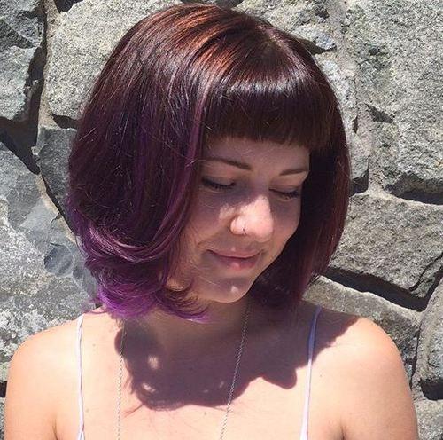 40 coupes de cheveux moyennes avec la frange les plus universelles 5e414be7c423f - 40 coupes de cheveux mi long avec la frange les plus universelles