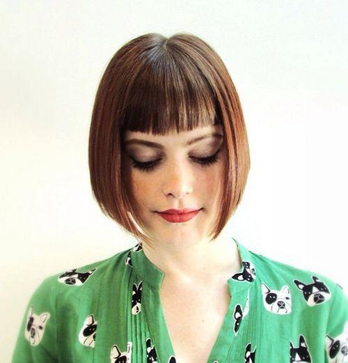 40 coupes de cheveux moyennes avec la frange les plus universelles 5e414be8ac3a4 - 40 coupes de cheveux mi long avec la frange les plus universelles