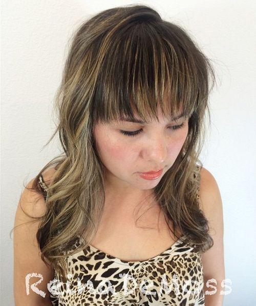 40 coupes de cheveux moyennes avec la frange les plus universelles 5e414be90758b - 40 coupes de cheveux mi long avec la frange les plus universelles