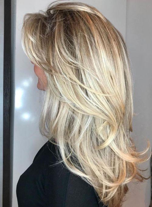 50 coupes de cheveux en couches mignonnes et sans effort avec une frange 5e4158211f003 - 50 coupes de cheveux en couches mignonnes et sans effort avec une frange