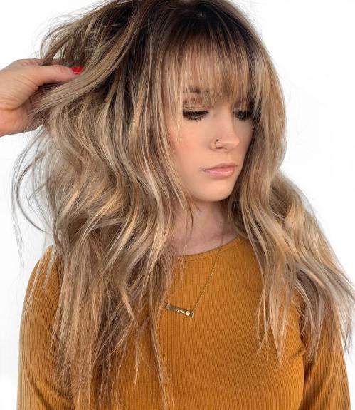 50 coupes de cheveux en couches mignonnes et sans effort avec une frange 5e4158216486c - 50 coupes de cheveux en couches mignonnes et sans effort avec une frange