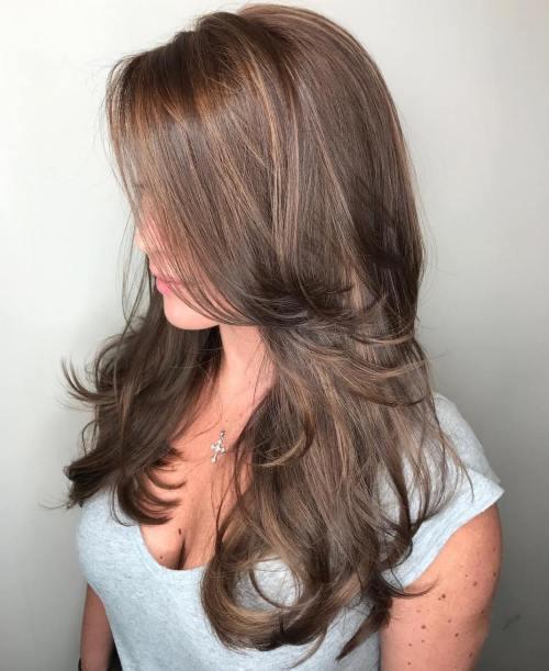 50 coupes de cheveux en couches mignonnes et sans effort avec une frange 5e41582180bb0 - 50 coupes de cheveux en couches mignonnes et sans effort avec une frange