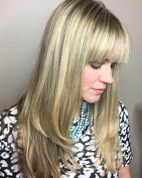 50 coupes de cheveux en couches mignonnes et sans effort avec une frange 5e41582284e72 - 50 coupes de cheveux en couches mignonnes et sans effort avec une frange