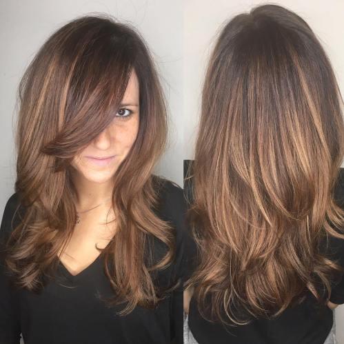 50 coupes de cheveux en couches mignonnes et sans effort avec une frange 5e4158232e129 - 50 coupes de cheveux en couches mignonnes et sans effort avec une frange