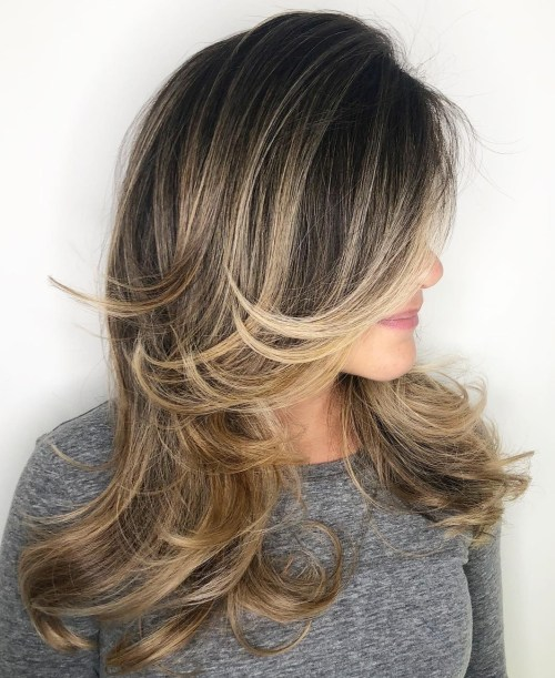 50 coupes de cheveux en couches mignonnes et sans effort avec une frange 5e41582401541 - 50 coupes de cheveux en couches mignonnes et sans effort avec une frange