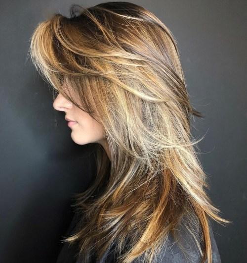 50 coupes de cheveux en couches mignonnes et sans effort avec une frange 5e4158247a3d1 - 50 coupes de cheveux en couches mignonnes et sans effort avec une frange
