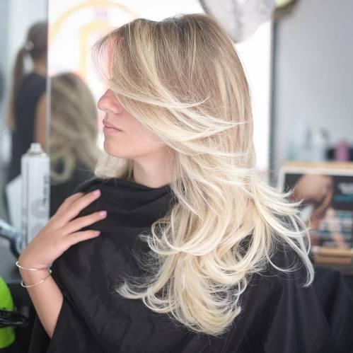 50 coupes de cheveux en couches mignonnes et sans effort avec une frange 5e4158258b004 - 50 coupes de cheveux en couches mignonnes et sans effort avec une frange