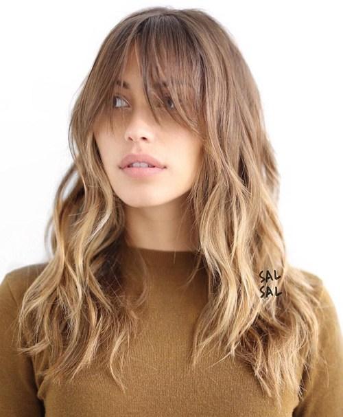 50 coupes de cheveux en couches mignonnes et sans effort avec une frange 5e415825c0110 - 50 coupes de cheveux en couches mignonnes et sans effort avec une frange