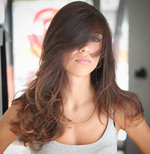50 coupes de cheveux en couches mignonnes et sans effort avec une frange 5e415825db31d - 50 coupes de cheveux en couches mignonnes et sans effort avec une frange