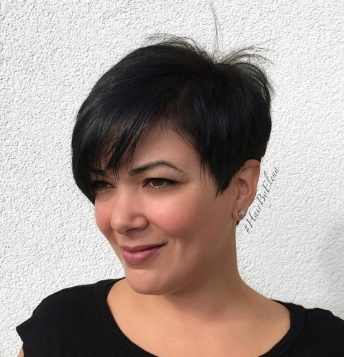 Round Face Pixie Cut For Fine Hair