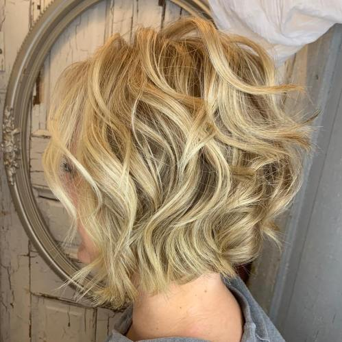 Inverted Bob For Wavy Curly Hair
