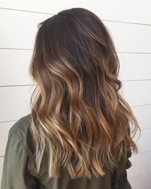 60 coiffures avec des cheveux brun fonce avec des reflets 5e428109643a7 - 60 coiffures avec des cheveux brun foncé avec des reflets