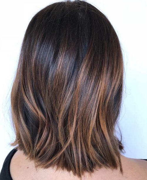 60 coiffures avec des cheveux brun fonce avec des reflets 5e42810ac29cd - 60 coiffures avec des cheveux brun foncé avec des reflets