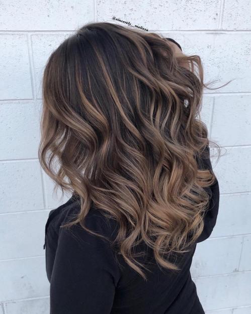 60 coiffures avec des cheveux brun fonce avec des reflets 5e42810c8114d - 60 coiffures avec des cheveux brun foncé avec des reflets