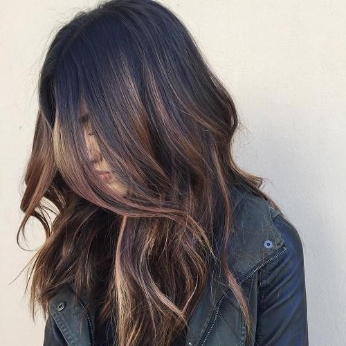 60 coiffures avec des cheveux brun fonce avec des reflets 5e42810d9b66d - 60 coiffures avec des cheveux brun foncé avec des reflets