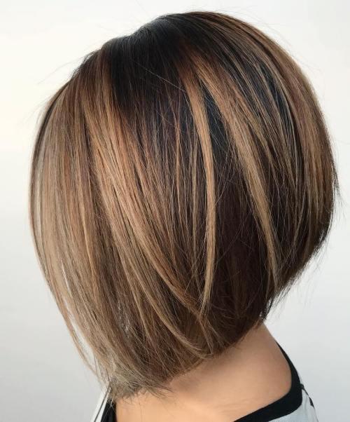 60 coiffures avec des cheveux brun fonce avec des reflets 5e42810ebb4e7 - 60 coiffures avec des cheveux brun foncé avec des reflets