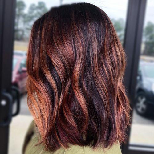 60 coiffures avec des cheveux brun fonce avec des reflets 5e42810f1ab9c - 60 coiffures avec des cheveux brun foncé avec des reflets