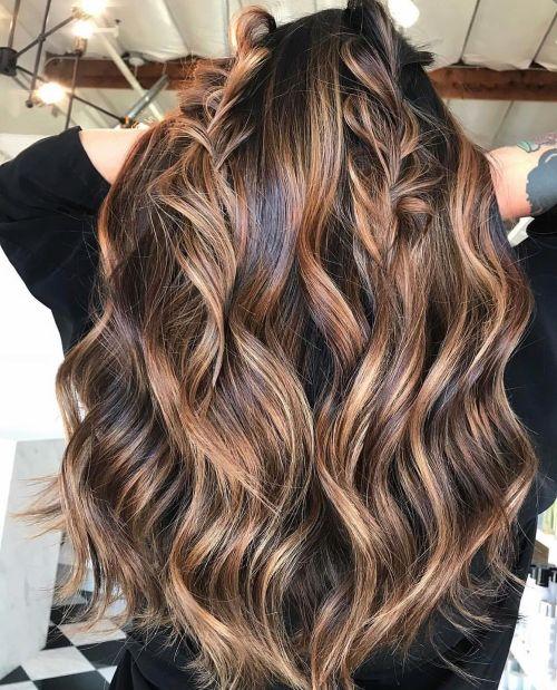 60 coiffures avec des cheveux brun fonce avec des reflets 5e42810f36b72 - 60 coiffures avec des cheveux brun foncé avec des reflets