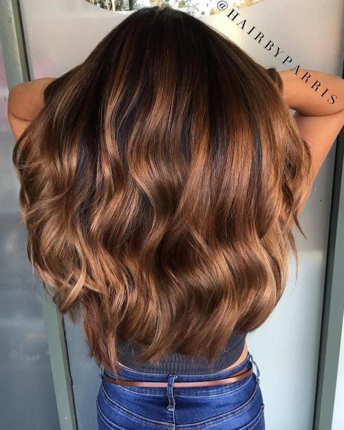 60 coiffures avec des cheveux brun fonce avec des reflets 5e42810f6c0dc - 60 coiffures avec des cheveux brun foncé avec des reflets