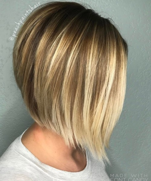 Cute Piece-Y Blonde Bob