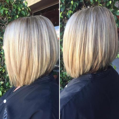 Straight Layered Lob