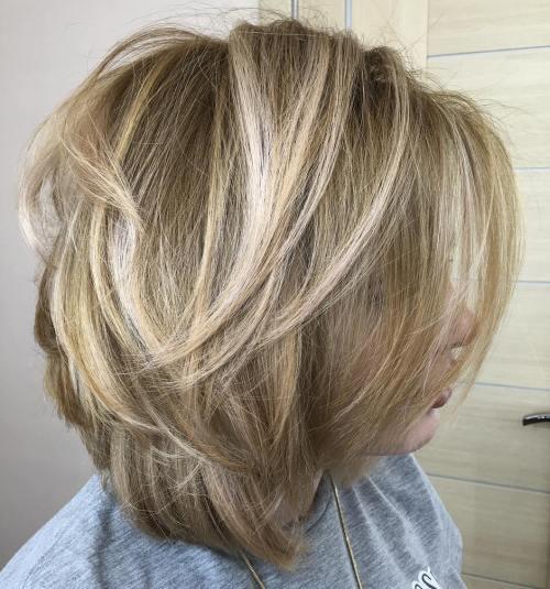 60 coiffures moyennes amusantes et flatteuses pour les femmes 5e414bff8de8c - 60 coiffures coupe cheveux mi long amusantes et flatteuses pour les femmes