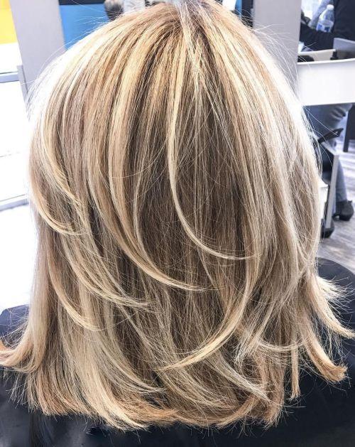 60 coiffures moyennes amusantes et flatteuses pour les femmes 5e414c0007095 - 60 coiffures coupe cheveux mi long amusantes et flatteuses pour les femmes