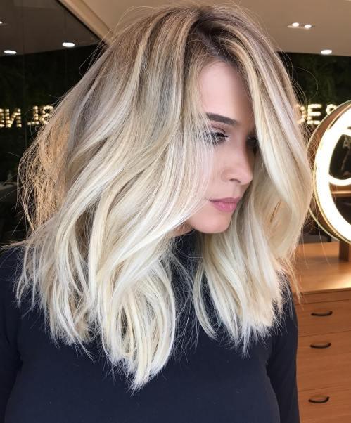 60 coiffures moyennes amusantes et flatteuses pour les femmes 5e414c0023815 - 60 coiffures coupe cheveux mi long amusantes et flatteuses pour les femmes