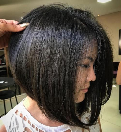 60 coiffures moyennes amusantes et flatteuses pour les femmes 5e414c00b1fdc - 60 coiffures coupe cheveux mi long amusantes et flatteuses pour les femmes