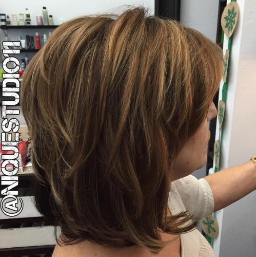 60 coiffures moyennes amusantes et flatteuses pour les femmes 5e414c012aced - 60 coiffures coupe cheveux mi long amusantes et flatteuses pour les femmes