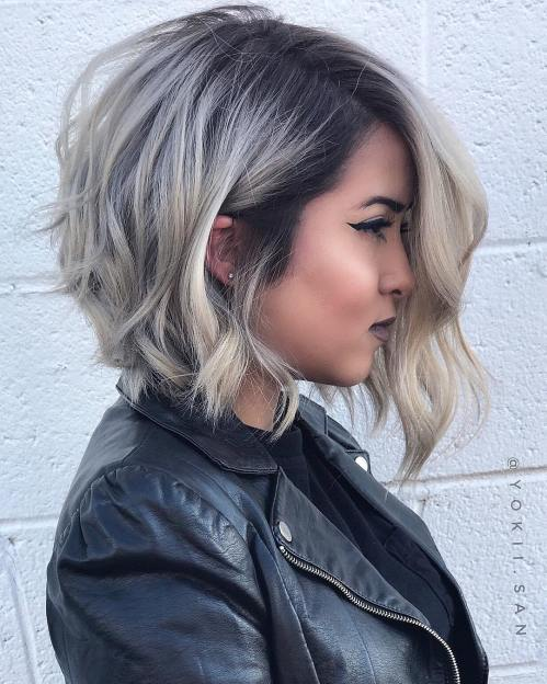 60 coiffures moyennes amusantes et flatteuses pour les femmes 5e414c014a4fb - 60 coiffures coupe cheveux mi long amusantes et flatteuses pour les femmes