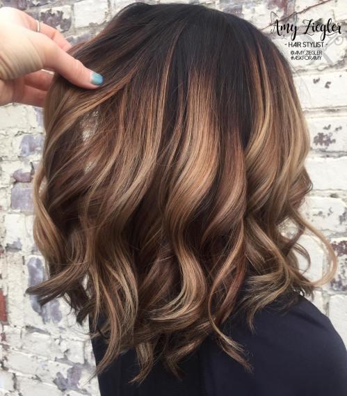 60 coiffures moyennes amusantes et flatteuses pour les femmes 5e414c0165ea9 - 60 coiffures coupe cheveux mi long amusantes et flatteuses pour les femmes