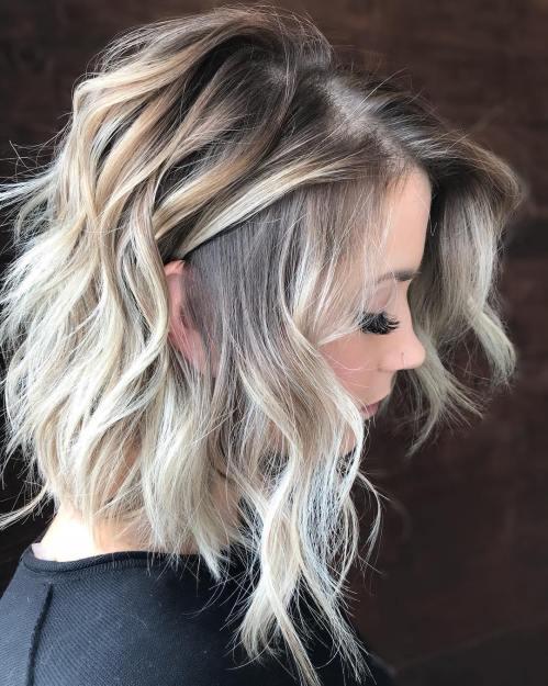 60 coiffures moyennes amusantes et flatteuses pour les femmes 5e414c018127b - 60 coiffures coupe cheveux mi long amusantes et flatteuses pour les femmes