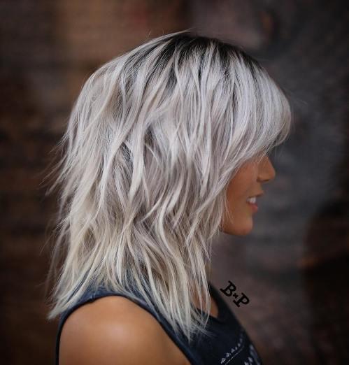 60 coiffures moyennes amusantes et flatteuses pour les femmes 5e414c03298ab - 60 coiffures coupe cheveux mi long amusantes et flatteuses pour les femmes