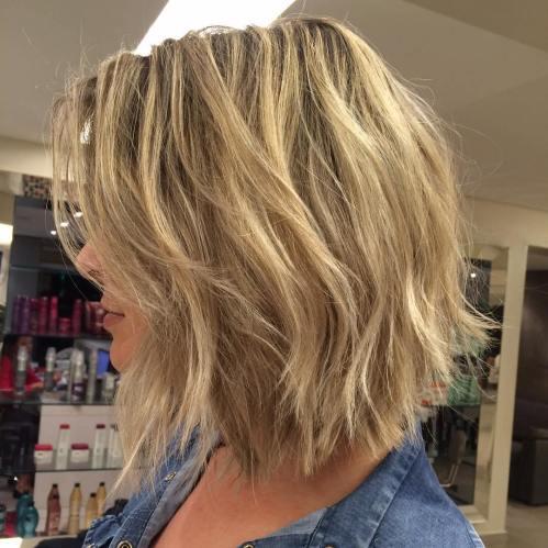 60 coiffures moyennes amusantes et flatteuses pour les femmes 5e414c037f28d - 60 coiffures coupe cheveux mi long amusantes et flatteuses pour les femmes