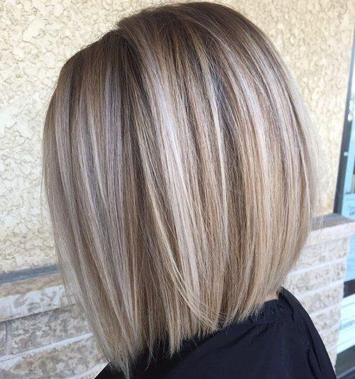 60 coiffures moyennes amusantes et flatteuses pour les femmes 5e414c039cb7f - 60 coiffures coupe cheveux mi long amusantes et flatteuses pour les femmes