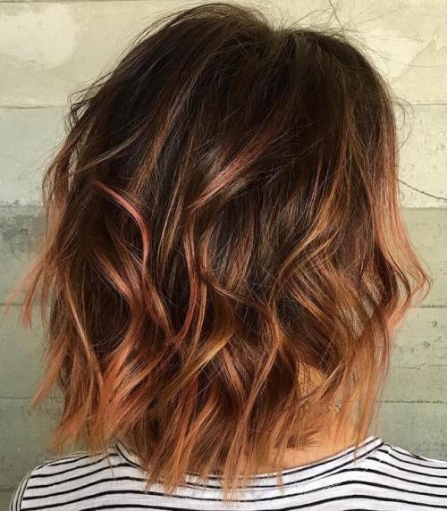 60 coiffures moyennes amusantes et flatteuses pour les femmes 5e414c03bad8a - 60 coiffures coupe cheveux mi long amusantes et flatteuses pour les femmes