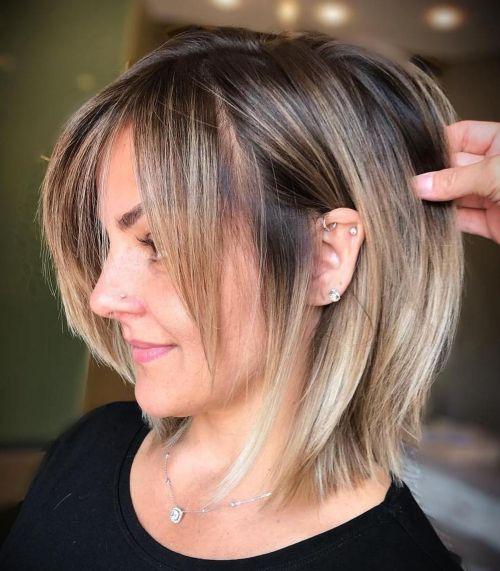 60 coiffures moyennes amusantes et flatteuses pour les femmes 5e414c03f3beb - 60 coiffures coupe cheveux mi long amusantes et flatteuses pour les femmes