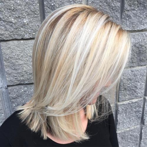 60 coiffures moyennes amusantes et flatteuses pour les femmes 5e414c043737d - 60 coiffures coupe cheveux mi long amusantes et flatteuses pour les femmes