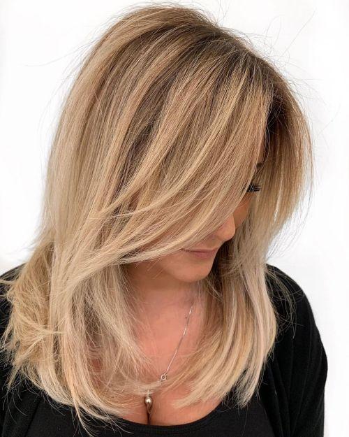 60 coiffures moyennes amusantes et flatteuses pour les femmes 5e414c046fd9b - 60 coiffures coupe cheveux mi long amusantes et flatteuses pour les femmes